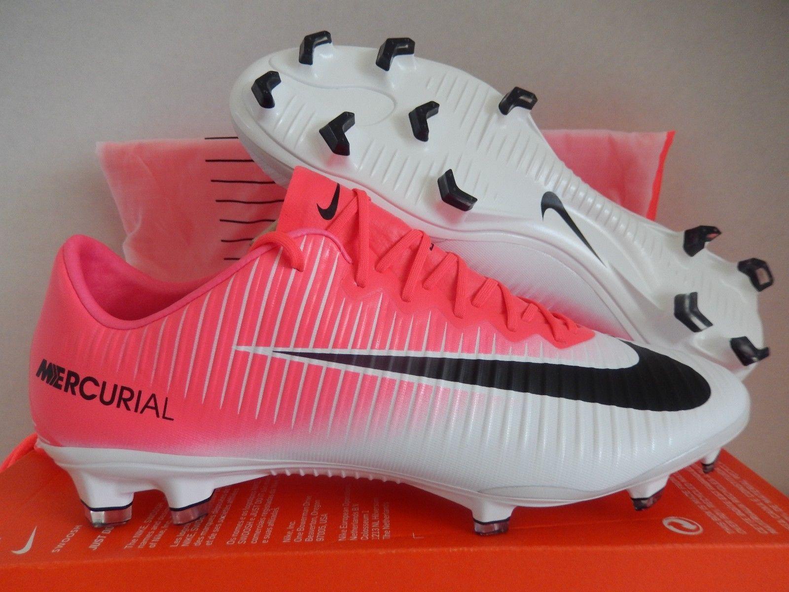 8c7bfba8f0f ... canada nike mercurial vapor xi fg racer pink black white sz 10 831958  15132 a4dfd