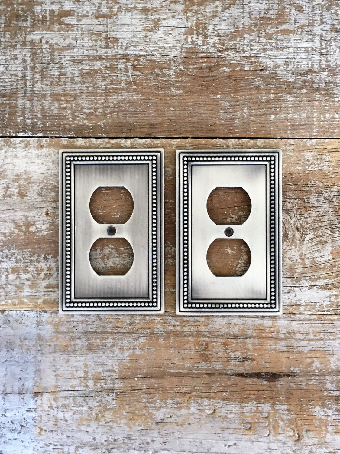 Stainless Steel Outlet Covers Outlet Covers 2 Silver Outlet Covers Stainless Steel Outlet Plate