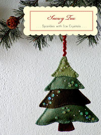 Wool Felt Ornaments