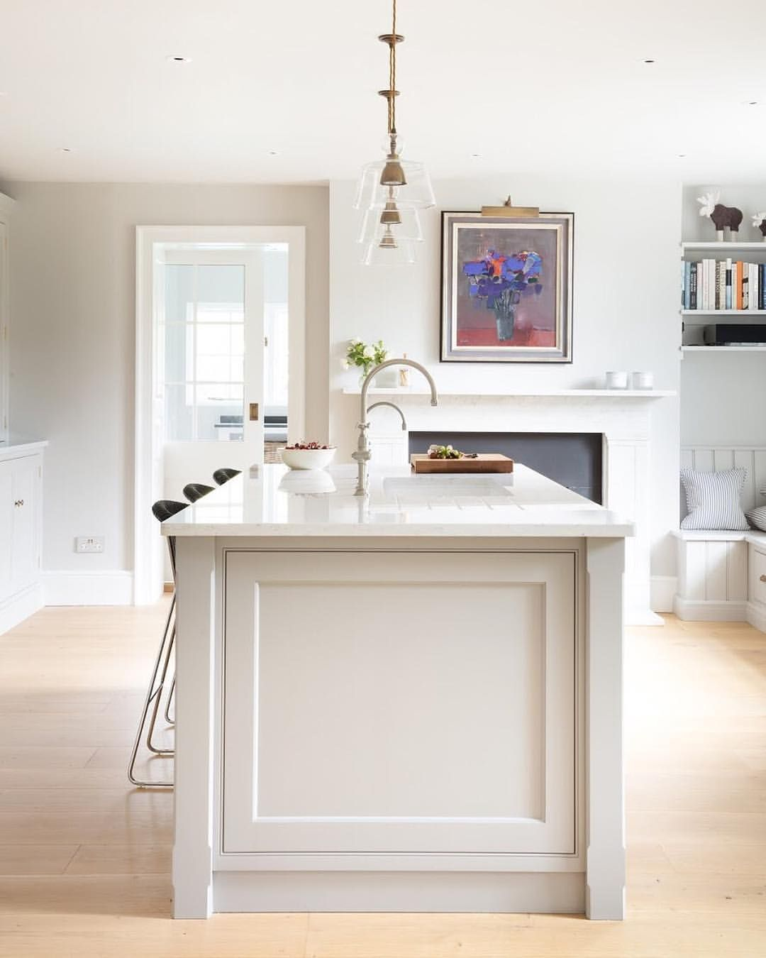 I Love The Simplicity Of Our Nickleby Cabinetry At Humphreymunson These End Pa Kitchen And Bath Remodeling English Kitchens Design Kitchen Island End Panels