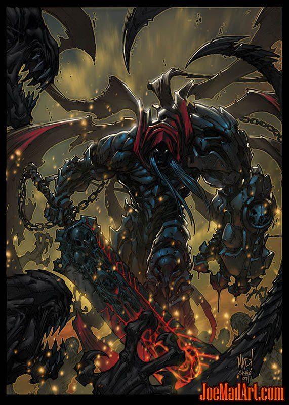 Darksiders War Promo Art Joe Madureira Dark Fantasy Art Concept Art