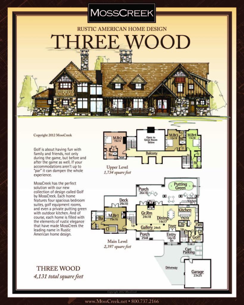 Mosscreek rustic american home design log cabin timber frame house plans also rh pinterest