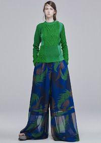 sacai初のプレコレクション、ルックを公開。sacai luckは一時休止【16年プレスプリング】 8枚目の写真・画像   ファッショントレンドニュース FASHION HEADLINE