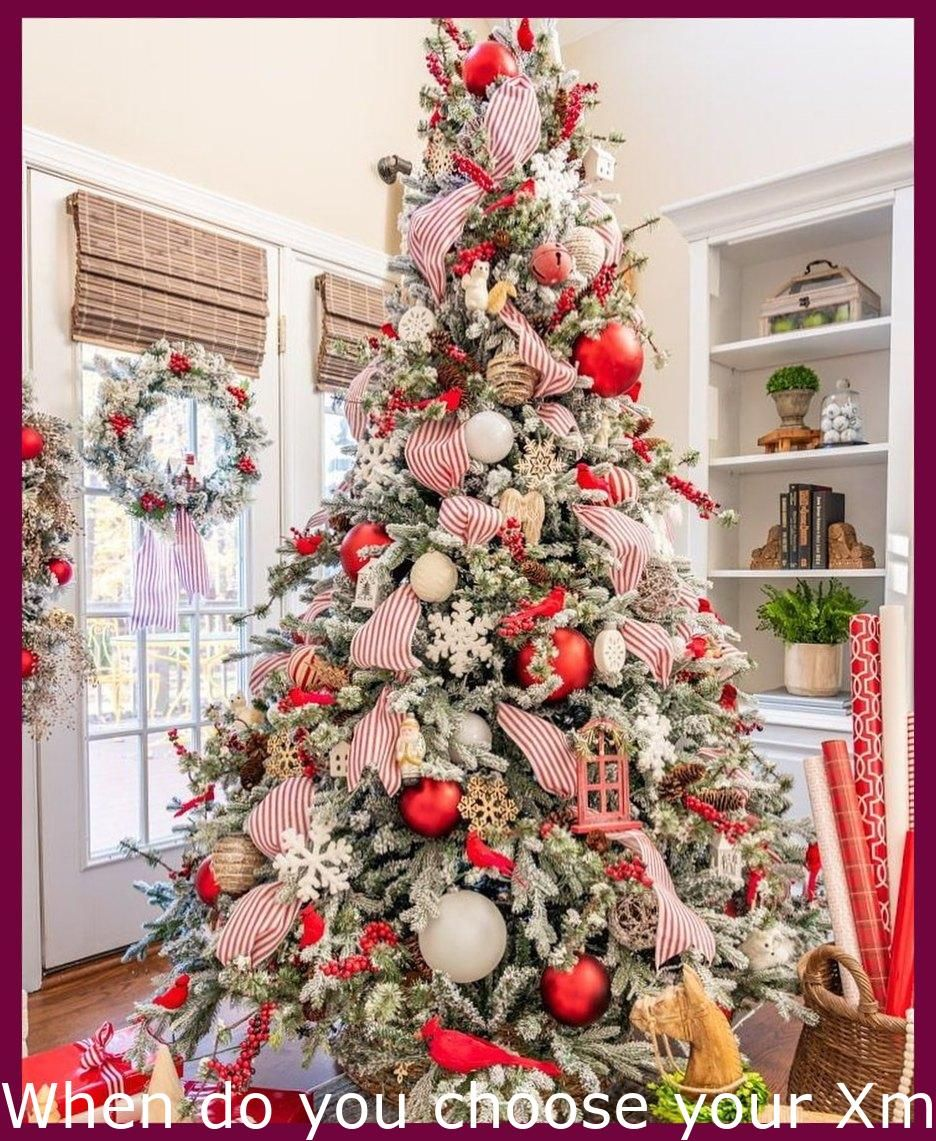 Christmas Tree Ideas Decorating When Do You Choose Your Xmas Decorations Down Du Christmas Dining Room Decor Christmas Tree Decorations Rustic Christmas Tree