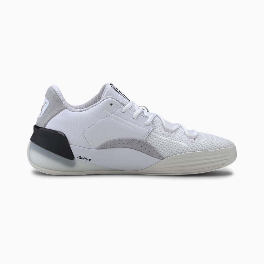 Clyde Hardwood Basketball Shoes | Black puma shoes