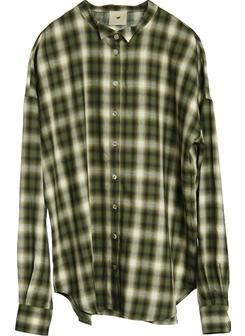 Heartmade green plaid shirt