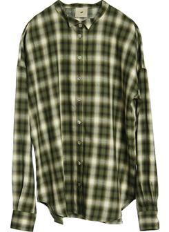 Heartmade green plaid shirt