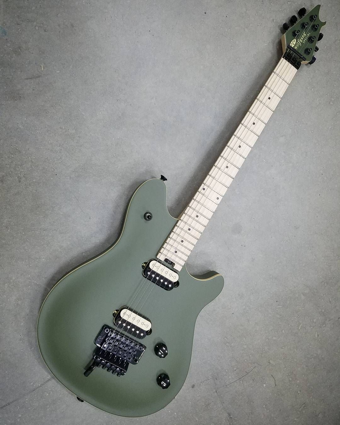 Instagram Photo By Front Stage Music Apr 19 2016 At 2 16am Utc Green Electric Electric Guitar Guitars For Sale