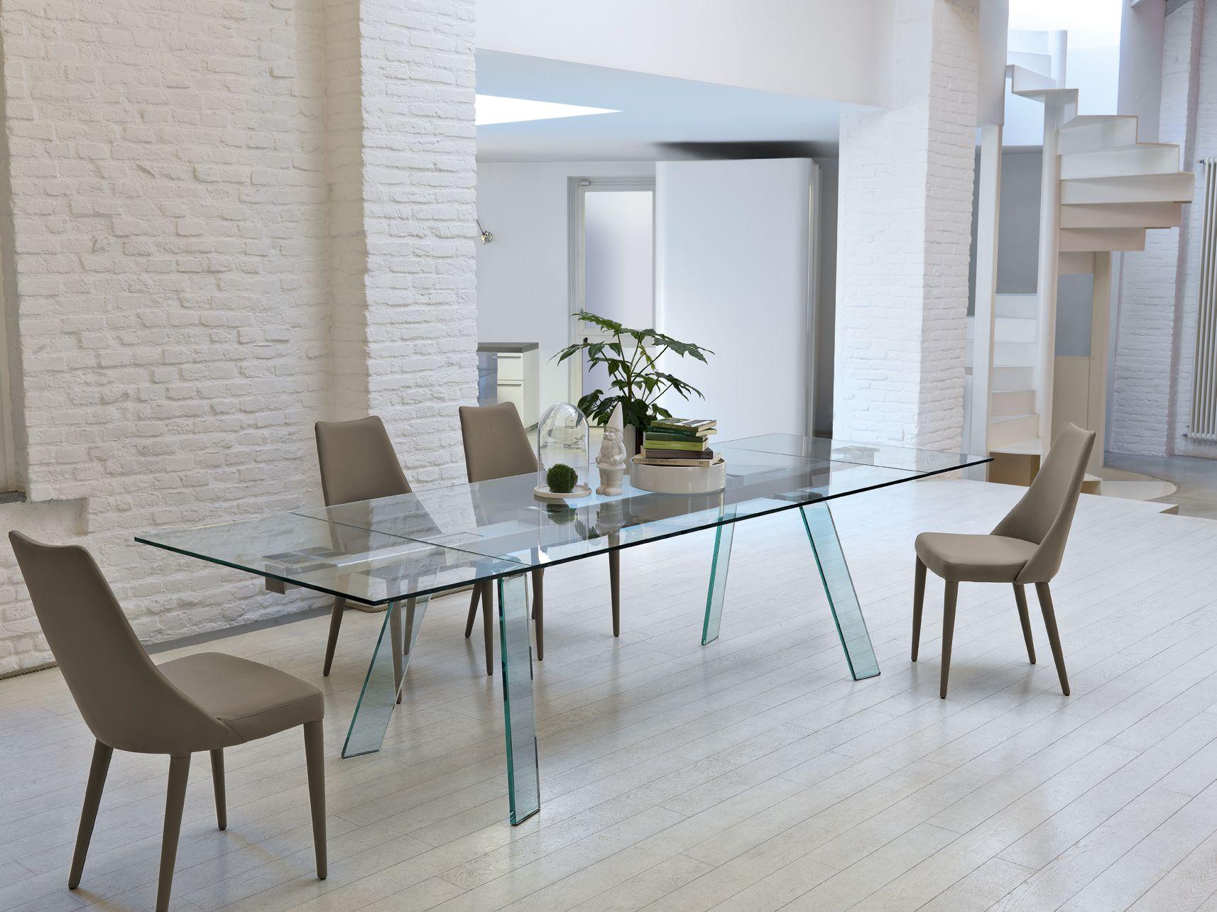 Toronto Table Extendable Version By Midj Design Studio Kappa Chair