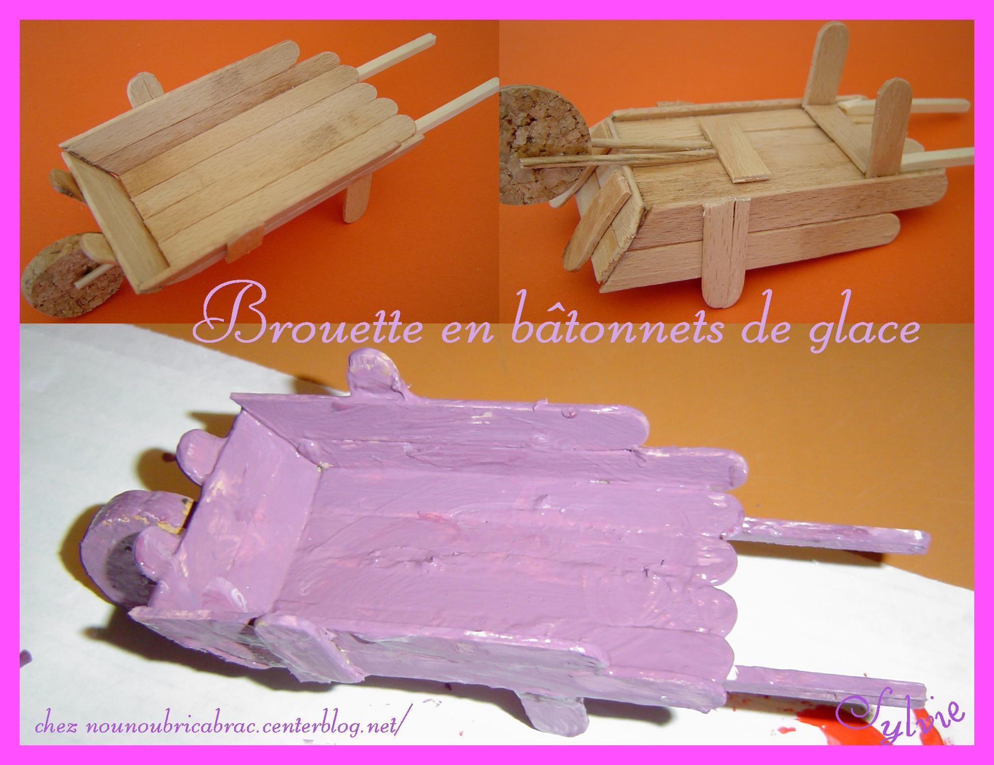 brouette baton de glace pinterest batonnet de glace baton de glace et b tonnets. Black Bedroom Furniture Sets. Home Design Ideas