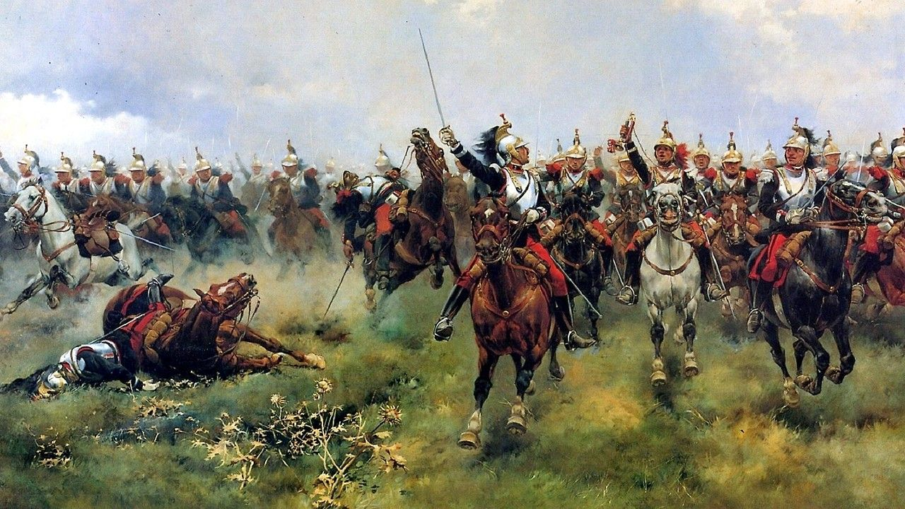 1870 Sedan The charge of General Marguerite