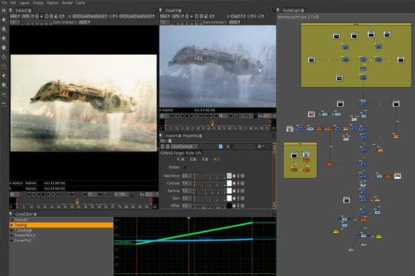 The new version of Free Open Source VFX software Natron has arrived