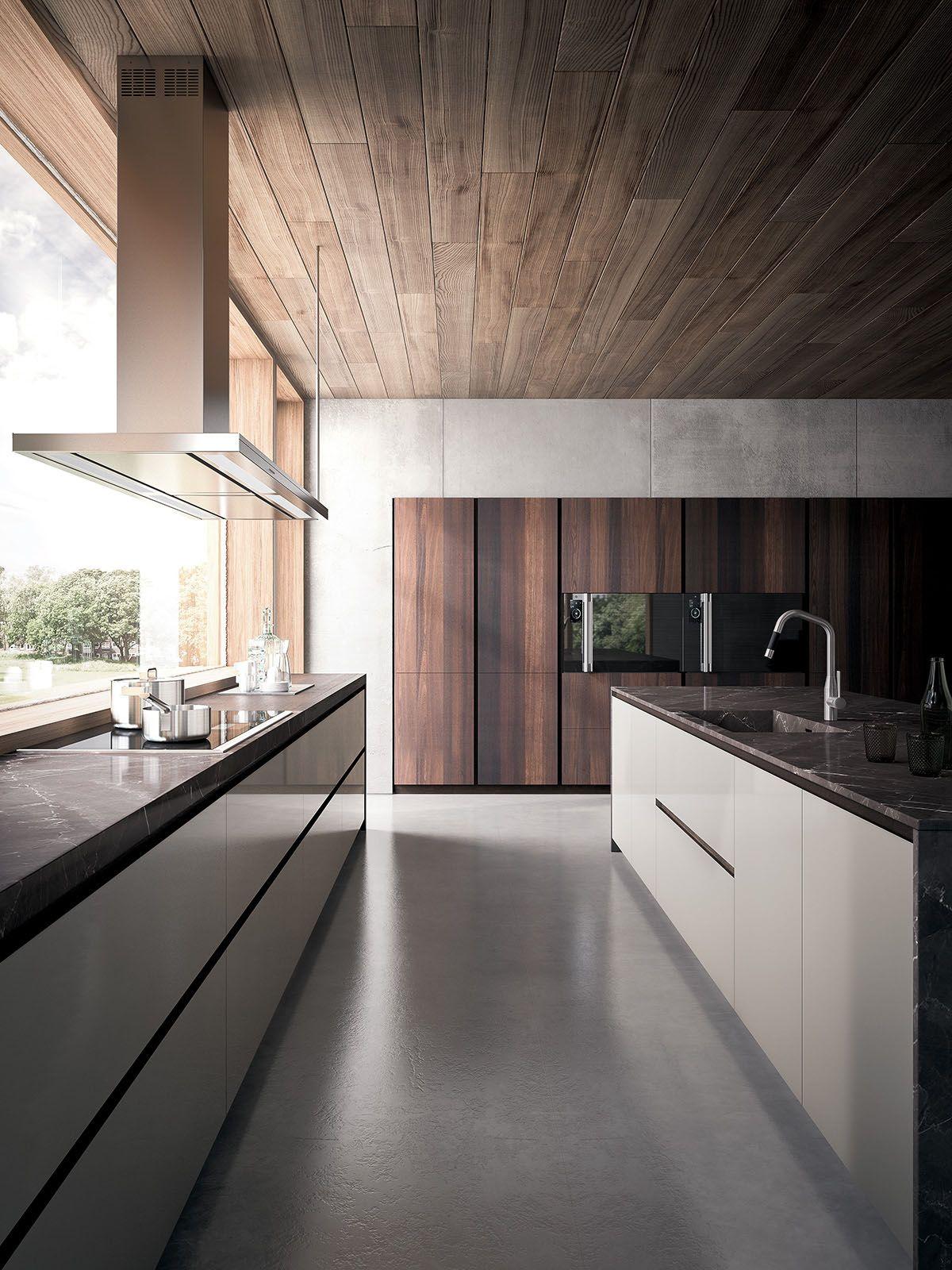 GD Arredamenti | Modern Kitchens | Velvet Elite - Heat-treated Oak ...