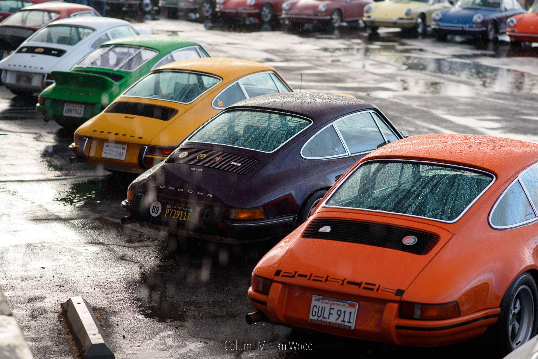 luftgekühlt 4: the most beautiful air cooled porsche parking in the