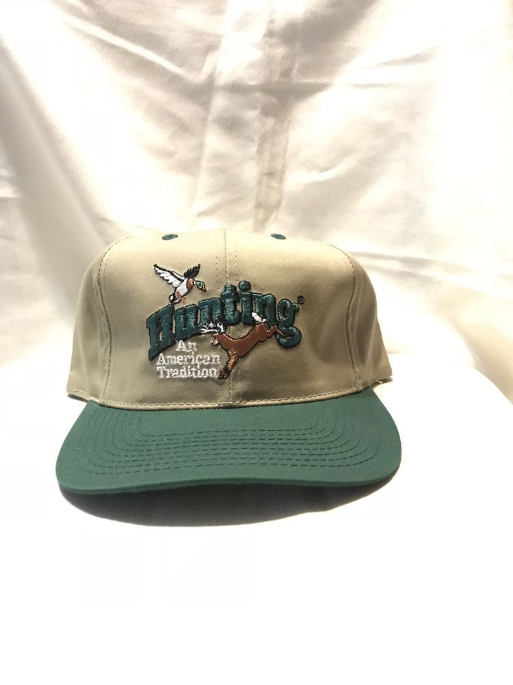 a4ac3ff39e8 Hunting An American Tradition Snapback Baseball Cap  fashion  clothing   shoes  accessories