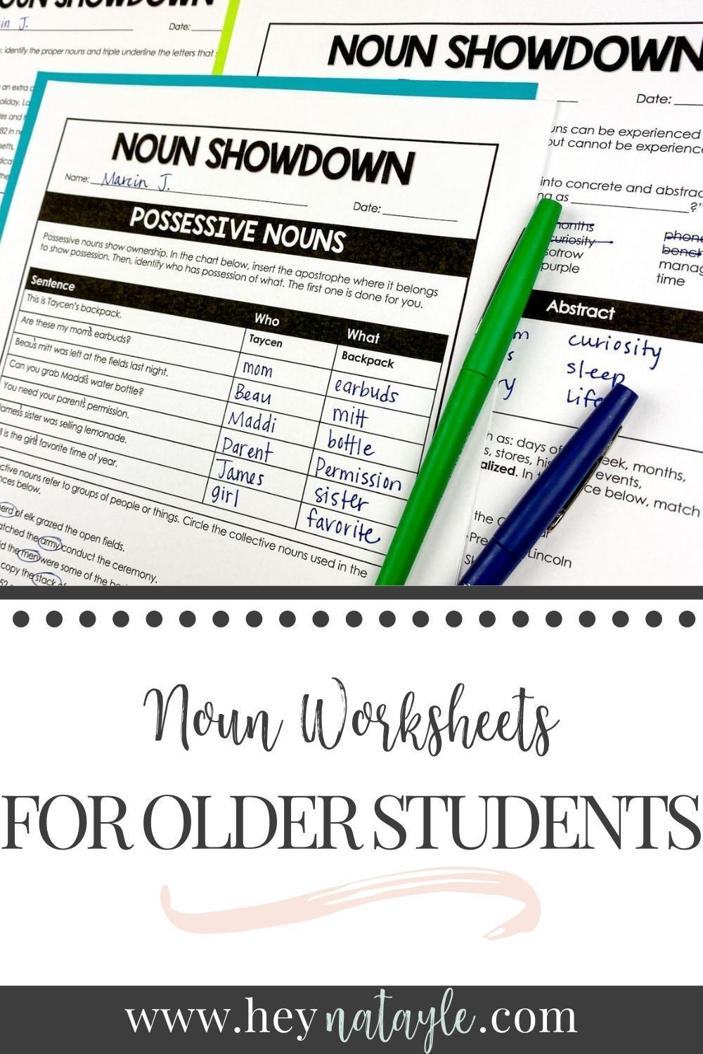 Nouns For Older Students Digital Print Slides Worksheets Exit Tickets Teaching Nouns Writing Rubric Middle School Writing [ 1500 x 1000 Pixel ]