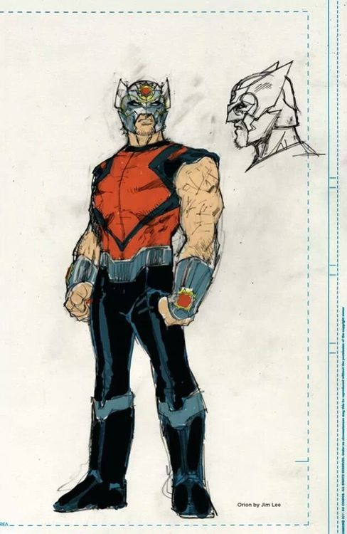Orion Character Concept 2013 By Jim Lee New Gods Jim