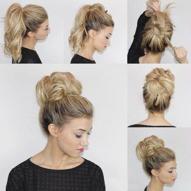 Simple And Fast Hairstyles For The Beach Beauty And Naturalness Of The Hair Beach Beauty Fast Hair Hairstyle Ha Schnelle Frisuren Frisur Ideen Frisuren