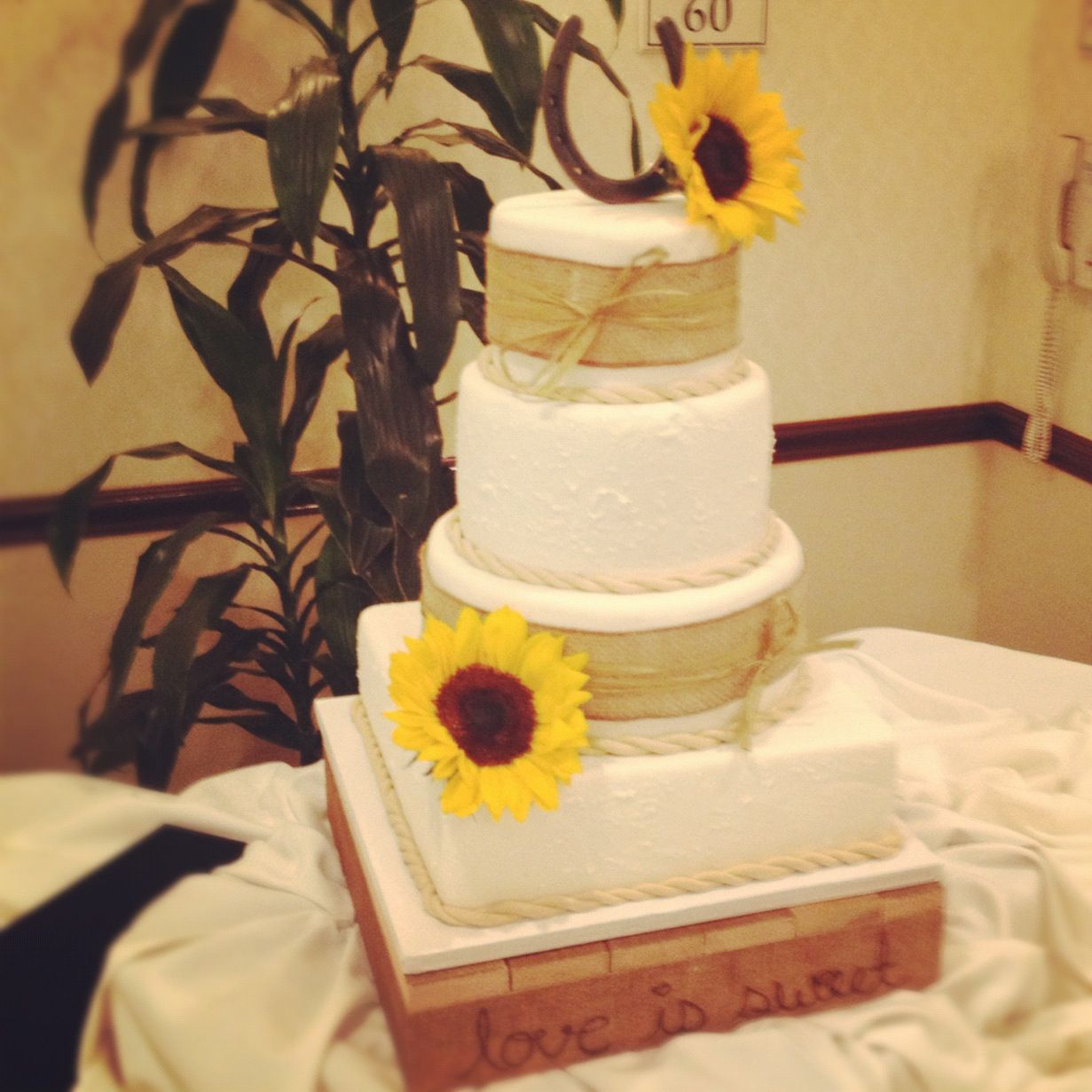 Country Themed Wedding Cake | Finished Cakes | Pinterest | Country ...