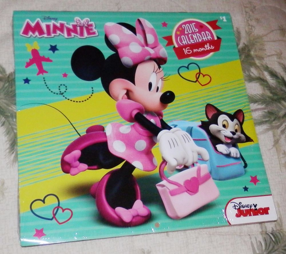 99 CENT SALE ENDS SOON....Calendar 2015 Minnie and Friends