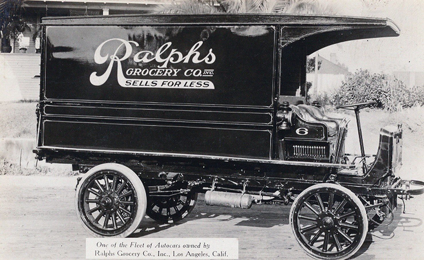 A ralphs grocery truck circa from the bizarre los angeles fb page
