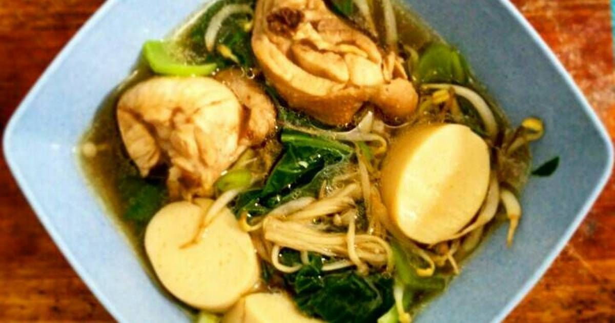 Resep Suki Kuah Kaldu Ayam Eat Clean Series Sehat Dan Bergizi Oleh Kania Yanitama Resep Kaldu Makanan Masakan