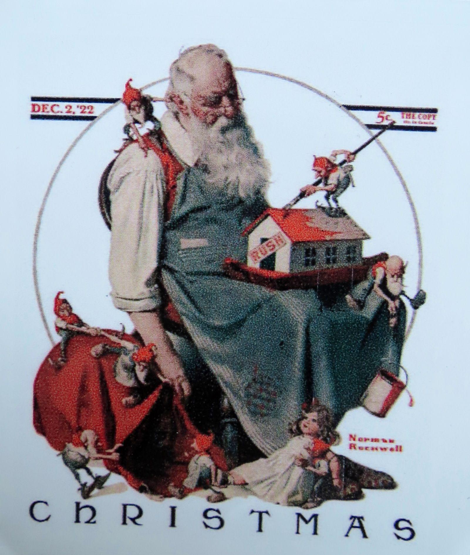 Norman Rockwell Christmas | Norman Rockwell: Christmas ...