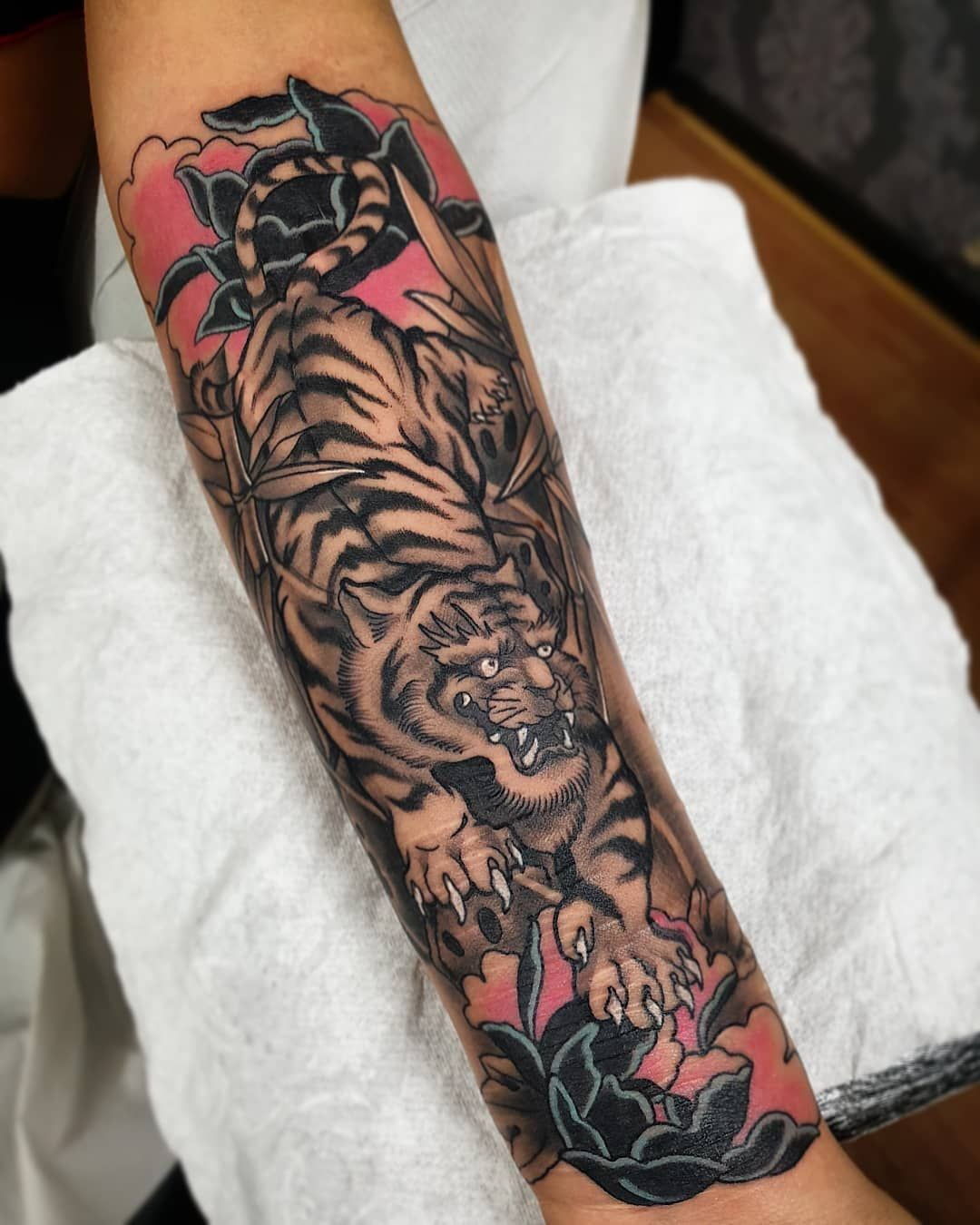 101 Amazing Japanese Tiger Tattoo Designs You Need To See!   Outsons   Men's Fashion Tips And Style Guide For 2020