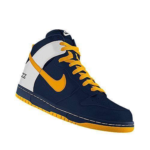 the best attitude 5fdb7 27390 Nike Dunk High iD Utah Jazz