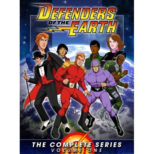 Defenders of the Earth. 80s Cartoons