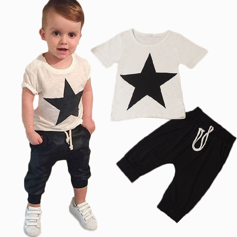 c51557332da1 2016 summer style baby boy clothes fashion cotton baby girl clothing ...