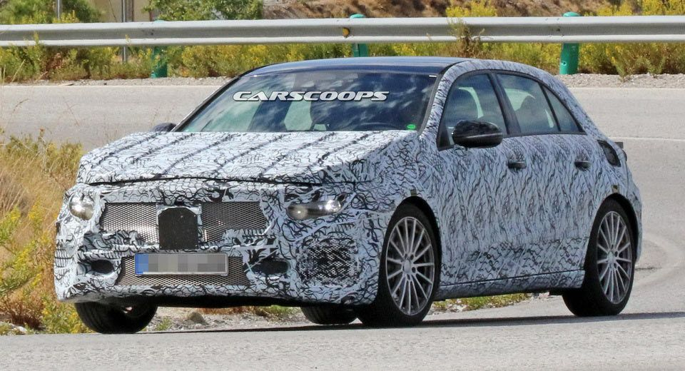 Watch Out Audi S3: New Mercedes-AMG A43 Caught Testing On Public Roads