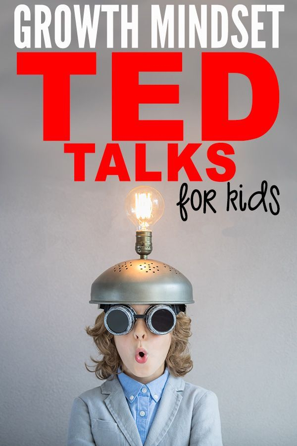 Growth Mindset Videos: 10 TEDTalks to Share With Your Students #growthmindset #growthmindsetactivities #elementary #middleschool #primaryschool