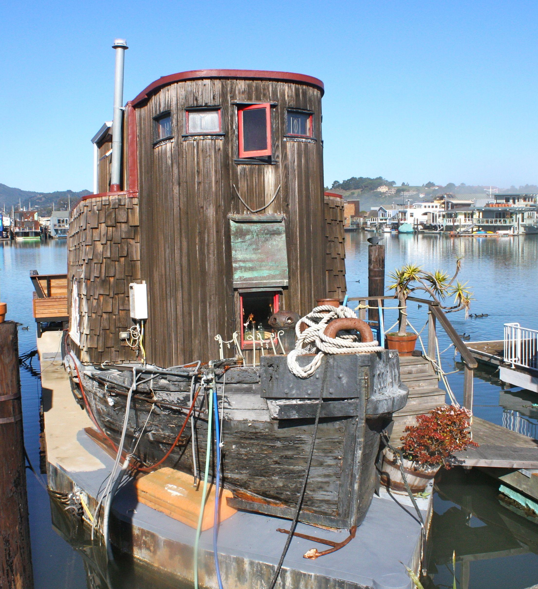 Rental Properties In San Francisco Ca: Sausalito Houseboats - Google Search