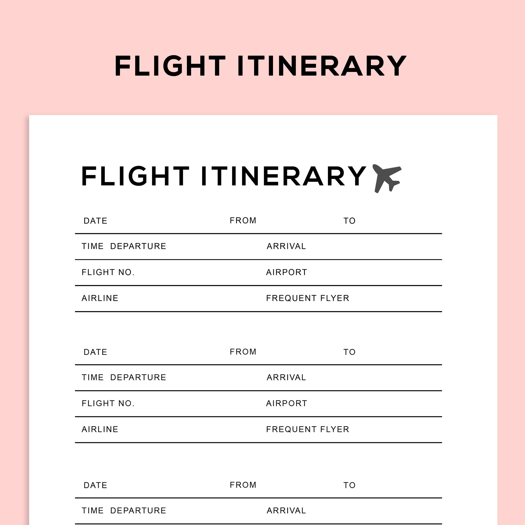 Travel Holiday Trip Planner Itinerary planner