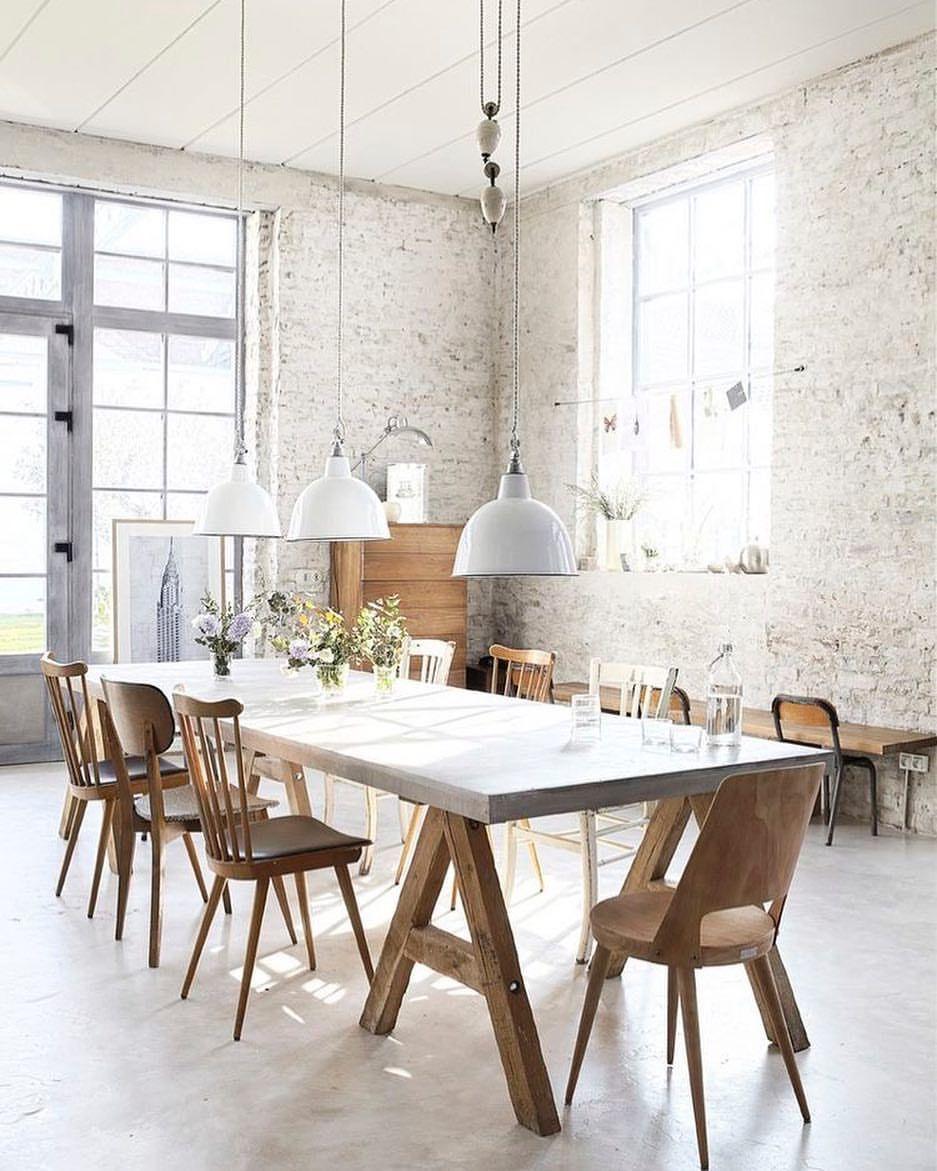 Rustic industrial dining room | Rustic Industrial Decor | Pinterest ...
