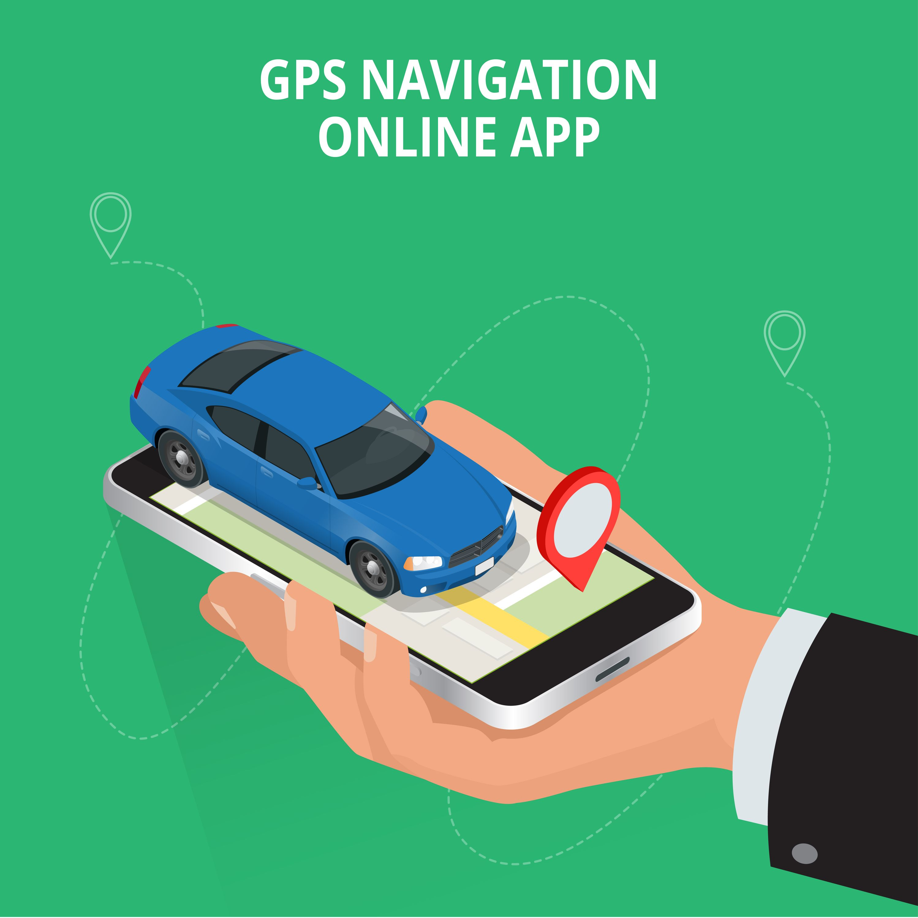 Gps Technology Can Help You Provide Location Based Services Get An Android App With Gps Support Mobile App Development Companies Gps Navigation Navigation
