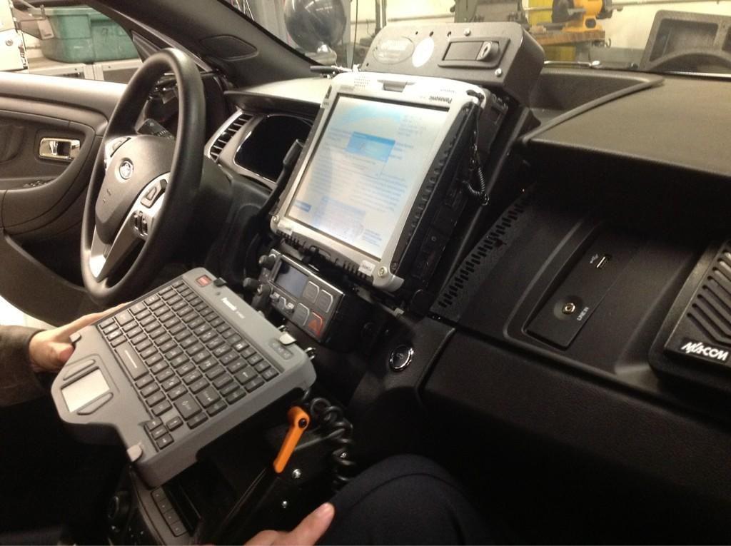 Police Car Interior