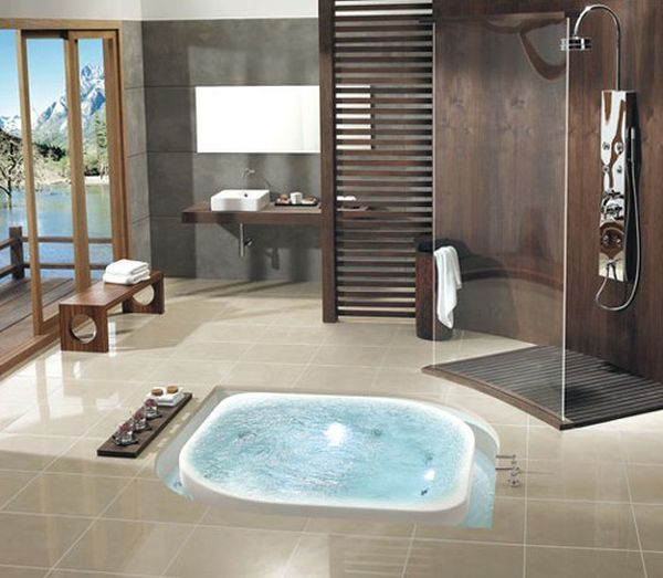Jacuzzi Bathroom Designs 18 Stylish Bathroom Designs For The Posh  Bathroom Designs