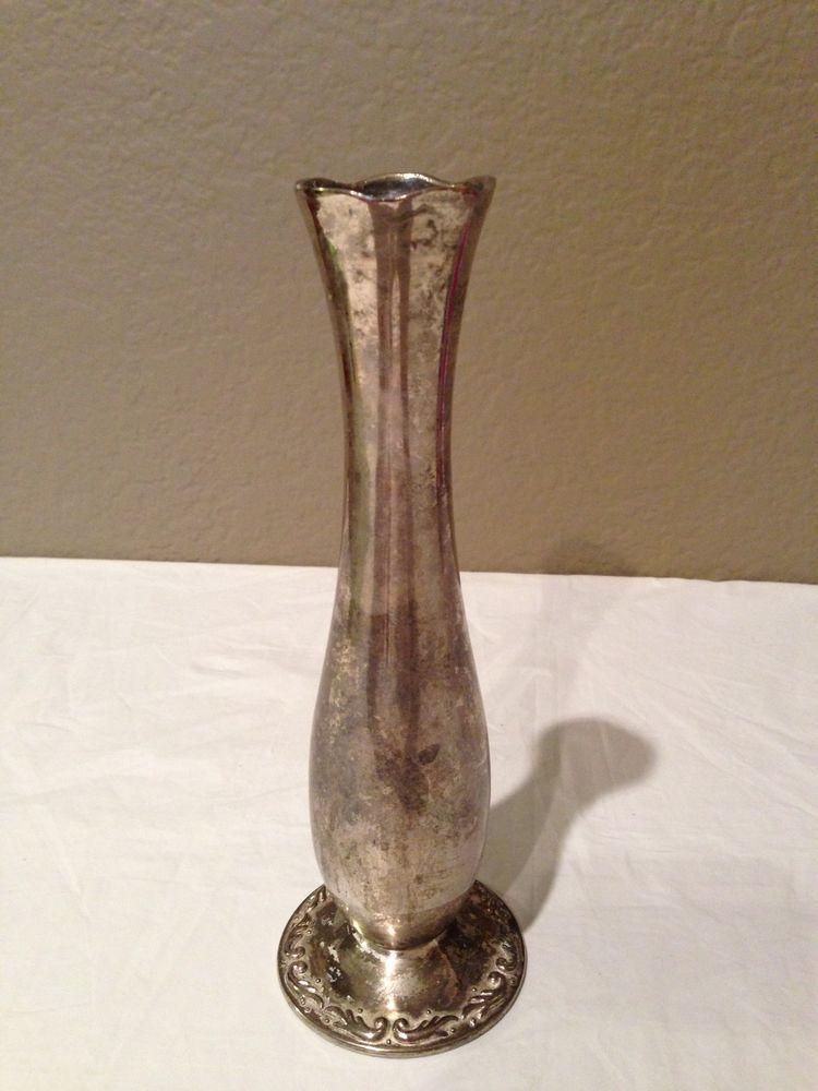 Vintage Teleflora Silver Plated Bud Vase My Product Design