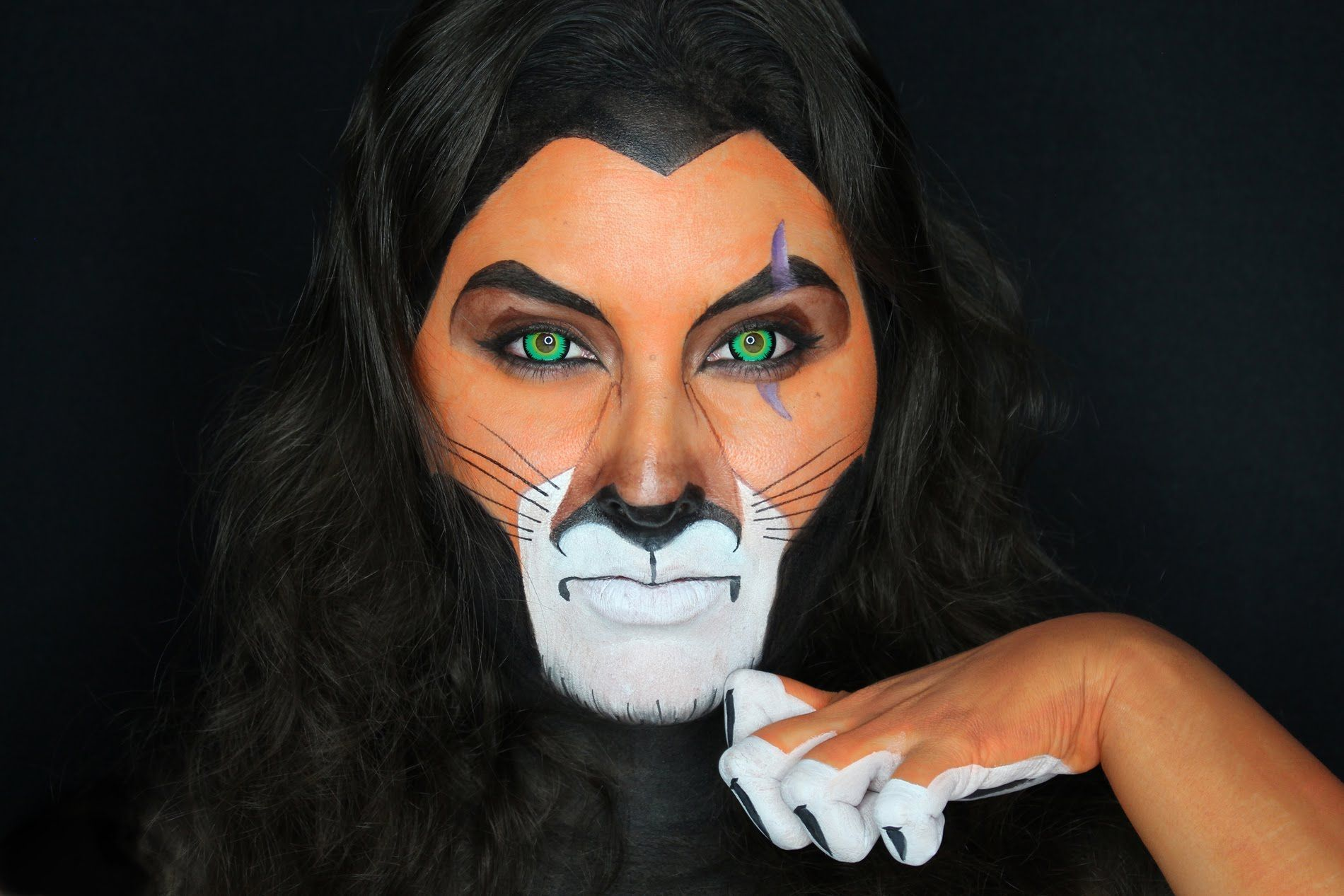 Scar Face the Lion from THE LION KING Paint Tutorial