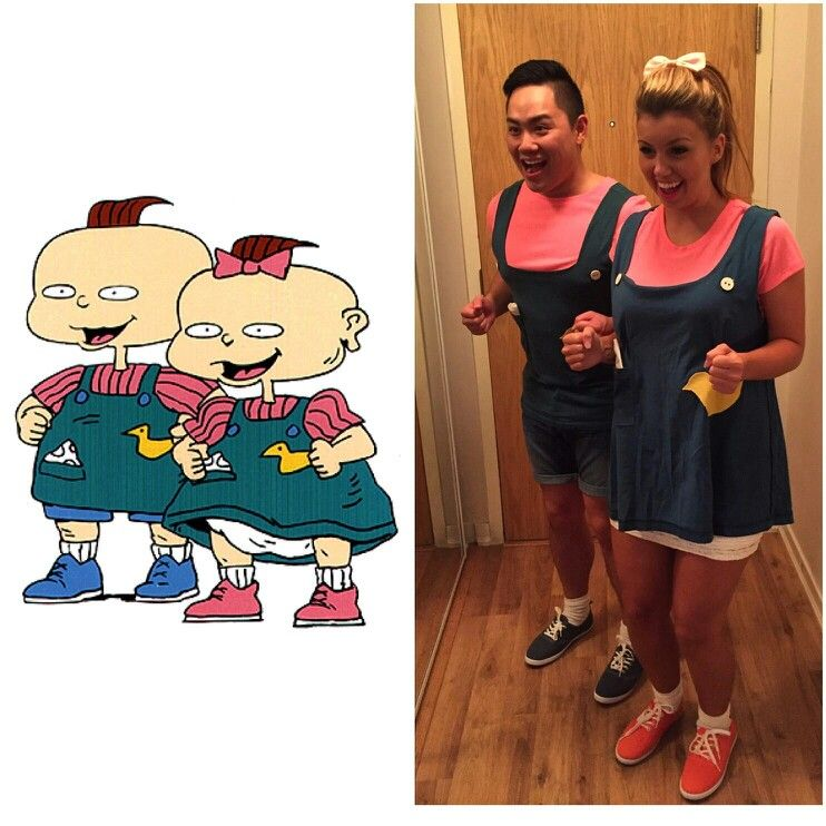 Phil & Lil Rugrats Halloween costumes! | Halloween | Pinterest ...