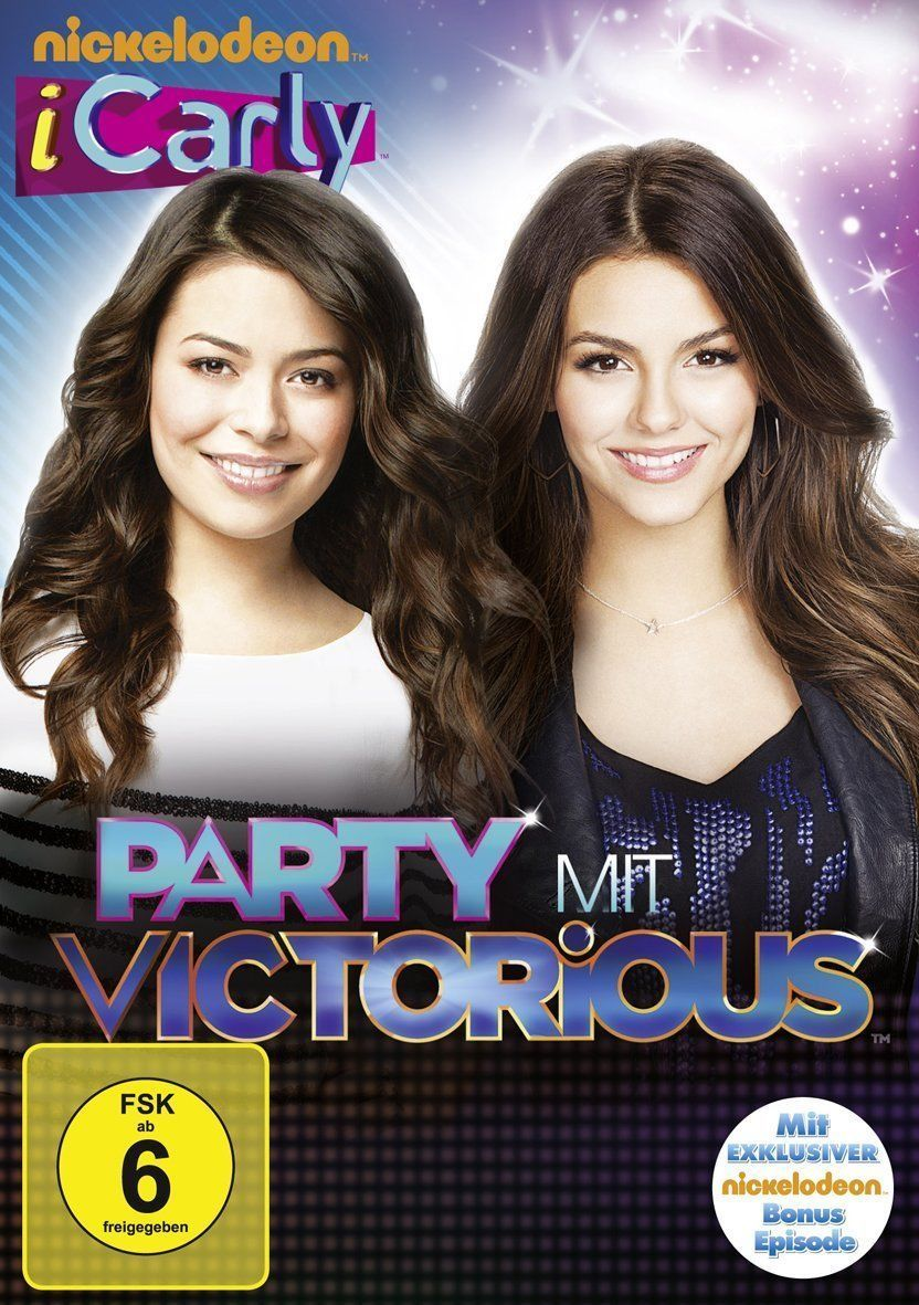 Dvd Icarly Iparty Party Mit Victorious Miranda Cosgrove Victoria Justice Region 6 Germany Victoria Justice Miranda Cosgrove Icarly