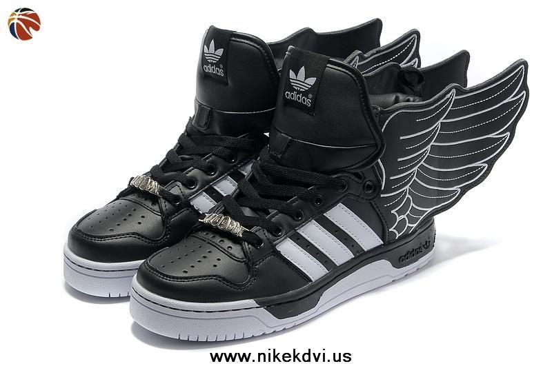 Buy Adidas X Jeremy Scott Wings 2.0 Shoes Black  42cf6ed23