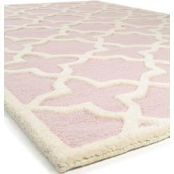 Photo of benuta Naturals Wollteppich Läufer für Flur Windsor Pink 80×240 cm – Naturfaserteppich aus Wolle