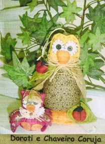 chaveiro coruja - marise fernandes - Álbuns da web do Picasa