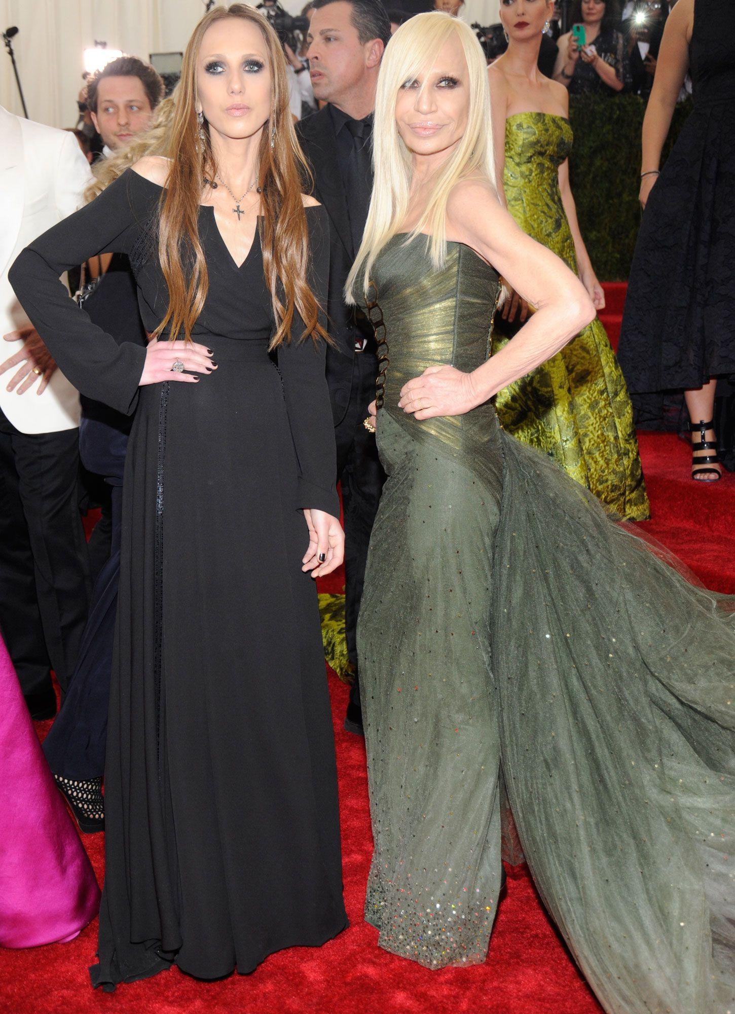 Having A Ball Gianni Donatella Versace Met Gala 2014 Fashion