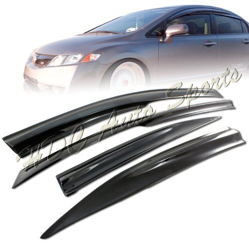 2006 2011 Honda Civic Sedan Jdm Style Window Visor You Can Get Additional Details At The Image Link Honda Civic Sedan 2011 Honda Civic Civic Sedan