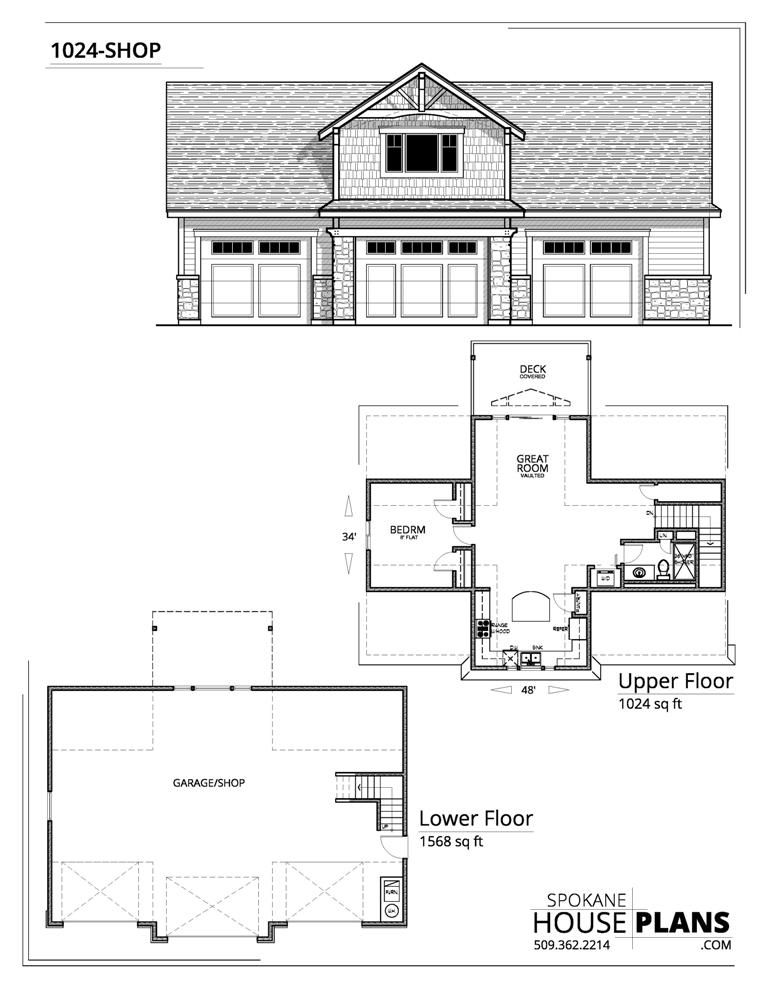 1024 Shop Garage Plans Garage Apartment Floor Plans Garage Apartment Plans