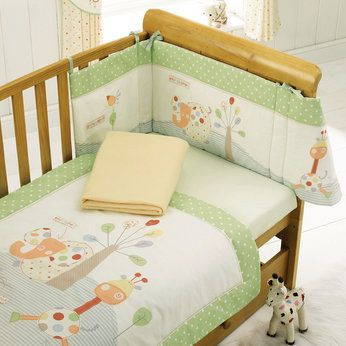Jungle Fun Cot Cotbed Bedding Set